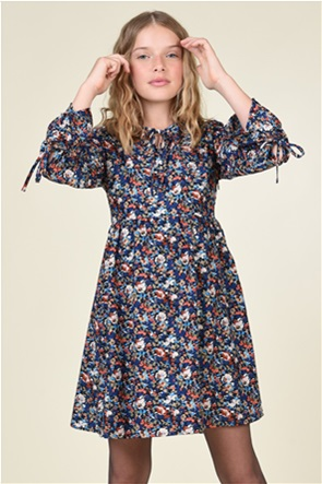 Mini Molly  παιδικό φόρεμα με floral pirnt