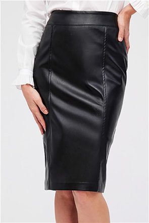 Forel γυναικεία pencil φούστα leather faux