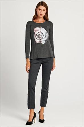 Forel γυναικείο παντελόνι με καρό σχέδιο