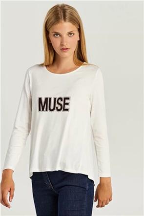 Forel γυναικεία μπλούζα με letter print