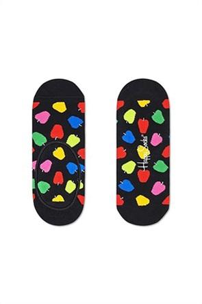 "Happy Socks unisex κάλτσες no show ""Apple"""