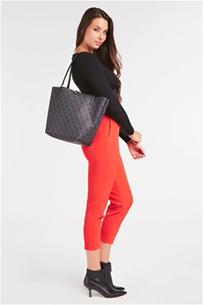 """Guess γυναικεία shopper bag με all-over print """"Alby"""""""