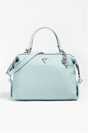 Guess γυναικεία τσάντα χειρός με μεταλλικές λεπτομέρειες ''Destiny Charm''