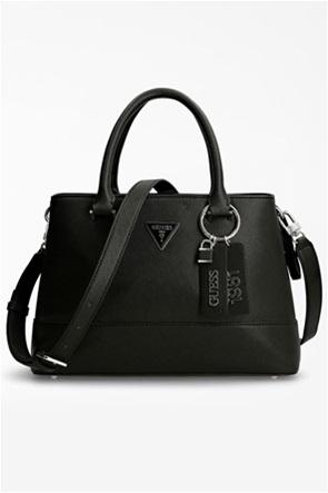 Guess γυναικεία τσάντα χειρός με μεταλλικές λεπτομέρειες ''Cordelia''