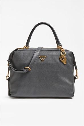 Guess γυναικεία τσάντα χειρός με μεταλλικές λεπτομέρειες ''Destiny''