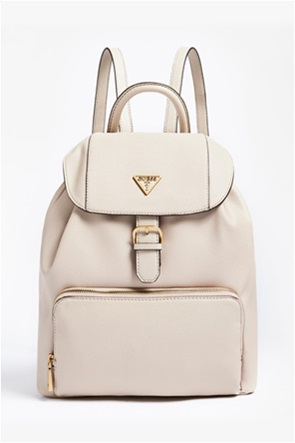 Guess γυναικείο backpack με μεταλλικό λογότυπο ''Destiny''