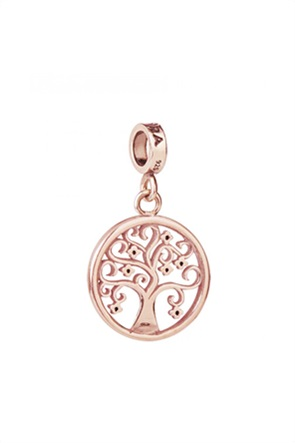 Tedora επιχρυσωμένο charm Tree of life