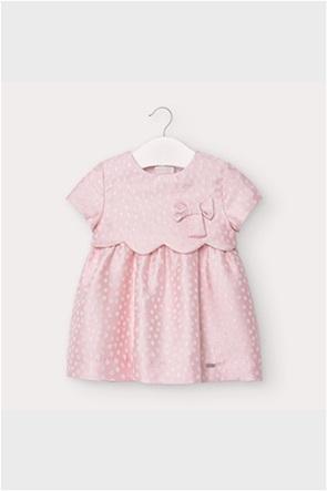 Mayoral βρεφικό φόρεμα με πουά σχέδιο και βολάν (9 μηνών- 3 ετών)