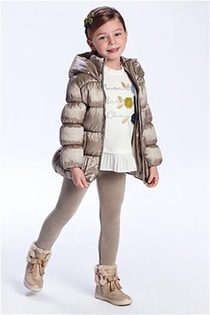 Mayoral παιδικό σετ ρούχων μπλούζα και βελουτέ κολάν (2-9 ετών)