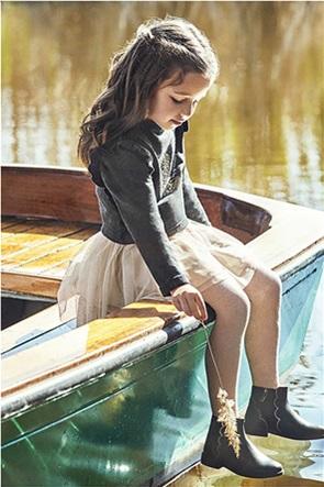 Mayoral παιδικό σετ ρούχων φόρεμα και μπλούζα φούτερ (2-9 ετών)