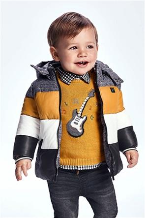 Mayoral βρεφικό πουλόβερ με σχέδιο κιθάρα (9-36 μηνών)