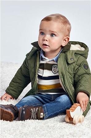 Mayoral παιδικό μπουφάν καπιτονέ με κουκούλα  (6-36 μηνών)