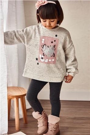 Mayoral παιδικό σετ ρούχων φούτερ και δύο κολάν (2-9 ετών) (3 τεμάχια)