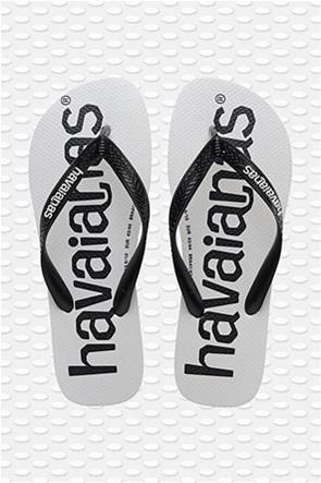 Havaianas unisex σαγιονάρες με logo print ''Logomania''