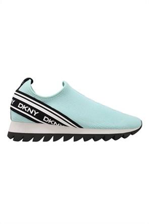 DKNY γυναικεία mesh sneakers Slip-On με logo print ''Abbi''