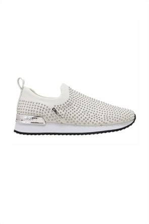 DKNY γυναικεία sneakers Slip-On με μεταλλικά τρούκς ''Marel''
