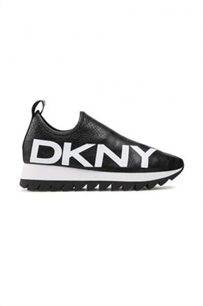 DKNY γυναικεία sneakers Slip-On με logo print ''Azer''