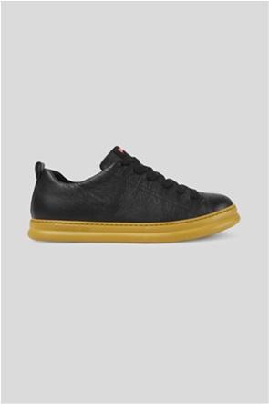 "Camper ανδρικά δερμάτινα sneakers με κορδόνια ""Runner"""