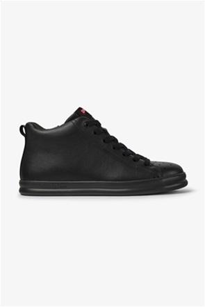 "Camper ανδρικά δερμάτινα sneakers μονόχρωμα ""Runner"""