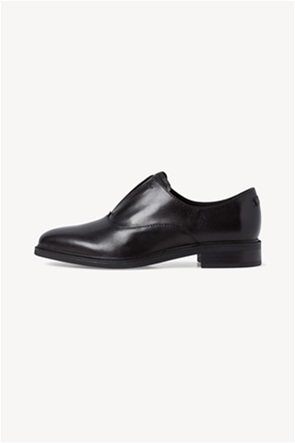 Tamaris γυναικεία παπούτσια Slip-On δερμάτινα