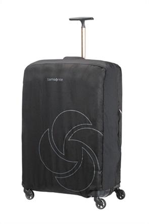 Samsonite κάλυμμα βαλίτσας με logo print