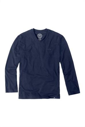 Götzburg ανδρική μπλούζα πιτζάμας με κεντημένο λογότυπο