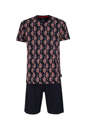 Ceceba ανδρικές πιτζάμες με print κάκτους