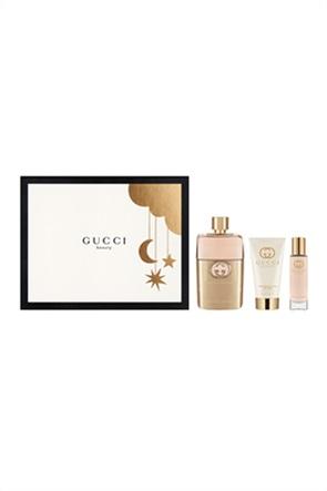 Gucci Guilty Femme Eau de Parfum 90 ml & Body Lotion 50 ml &  Travel Spray