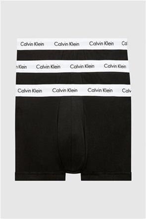 Calvin Klein ανδρικά μποξεράκια με logo στο λάστιχο (3 τεμαχίων)