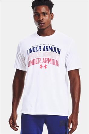 "Under Armour ανδρικό T-shirt με letter print ""Collegiate"""