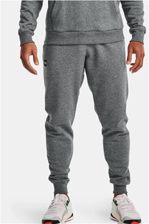 """Under Armour ανδρικό παντελόνι φόρμας με logo patch """"Men's UA Rival Joggers"""""""