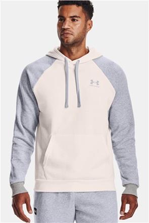 "Under Armour ανδρική μπλούζα φούτερ με κουκούλα ""Men's UA Rival Colorblock"""