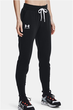 "Under Armour γυναικείο παντελόνι φόρμας με logo print ""Rival Joggers"""