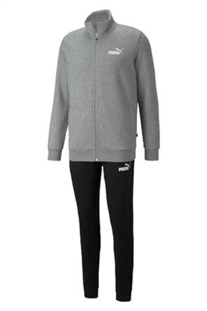 Puma ανδρικό σετ φόρμες με ζακέτα φούτερ και παντελόνι