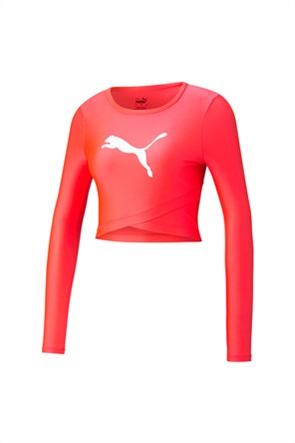 """Puma γυναικείο τοπ με μακρύ μανίκι """"Modern Sports Longsleeve Cropp"""""""