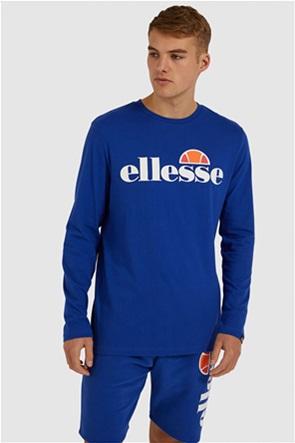 Ellesse ανδρική μπλούζα μονόχρωμη με logo print ''Sl Grazie''