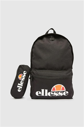 Ellesse σετ unisex backpack και κασετίνα με logo print ''Rolby''