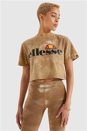 Ellesse γυναικείο T-shirt tie-dye με logo print ''Alberta''