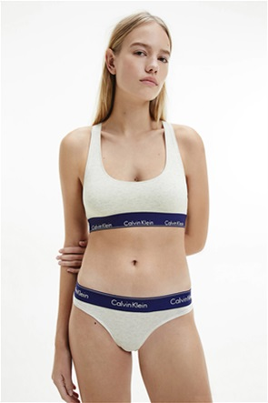 Calvin Klein γυναικείo μπουστάκι με logo print στο λάστιχο