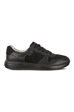 ECCO  ανδρικά δερμάτινα sneakers με κορδόνια