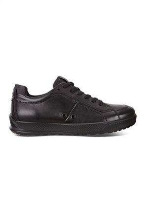 ECCO ανδρικά sneakers με κορδόνια μονόχρωμα