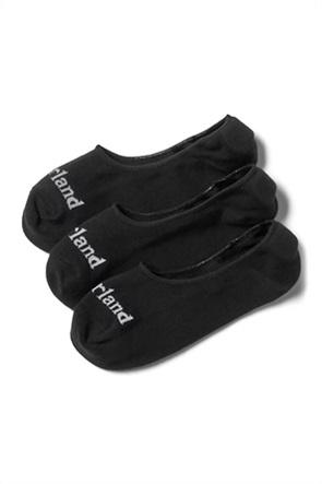 Timberland ανδρικές κοντές κάλτσες με λογότυπο (3 τεμάχια)