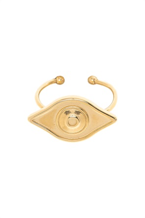 "The Fashion Desk γυναικείο δαχτυλίδι με σχήμα μάτι ""Evil Eye"""