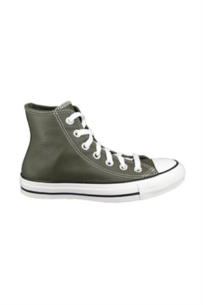"""Converse unisex sneakers μποτάκια """"Leather Chuck Taylor''"""