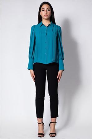 Lucifair γυναικείο πουκάμισο με πιέτες