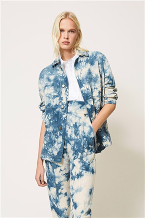 Twinset γυναικείo jacket Tie-dye Oversized Fit