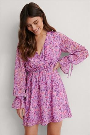 NA-KD γυναικείο mini φόρεμα με all-over floral print