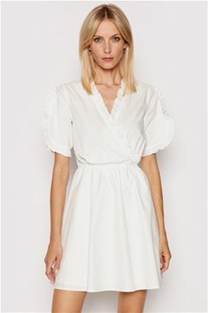 NA-KD γυναικείο mini φόρεμα με διακοσμητικό βολάν