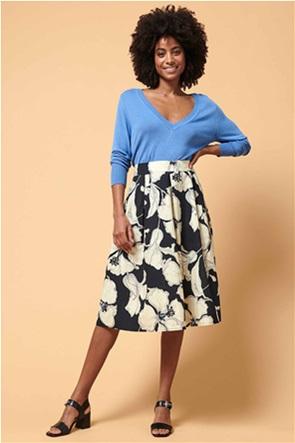 La Fee Maraboutee γυναικεία midi φούστα με floral print
