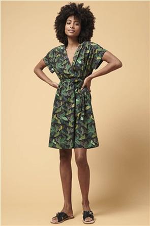 La Fee Maraboutee γυναικείο wrap mini φόρεμα με εμπριμέ print